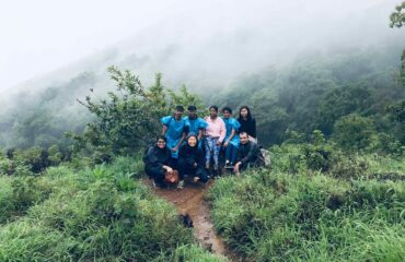 Among the clouds during monsoons