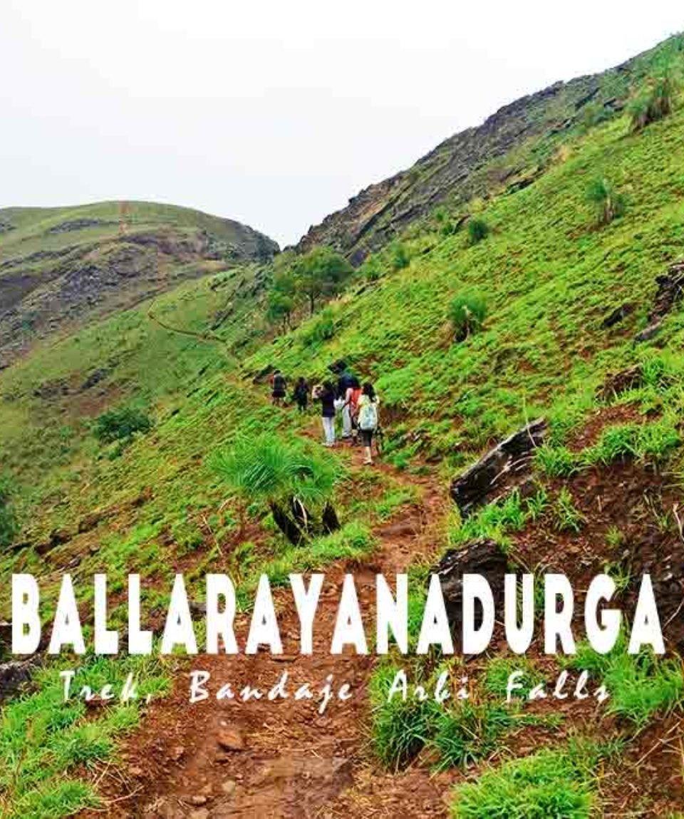 Ballarayanadurga-Trek-Bandaje-Arbi-Waterfalls-Muddie-Trails