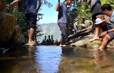 Barkana Waterfalls origin point