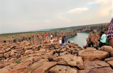 Boulder filled hills at Gandikota