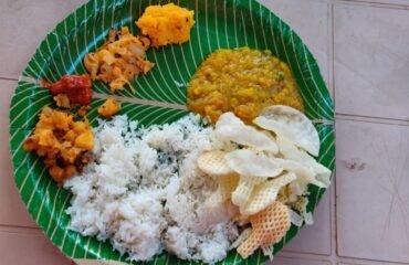 Typical South Thali